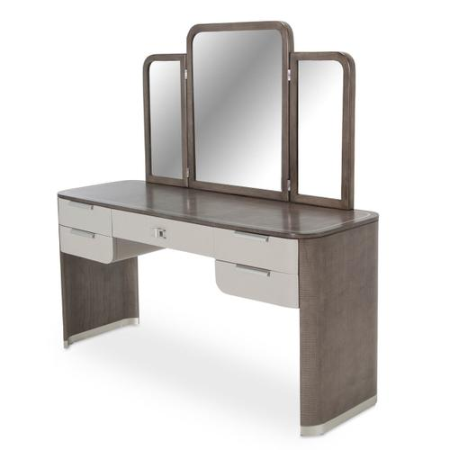 Vanity Desk & Mirror Mirror