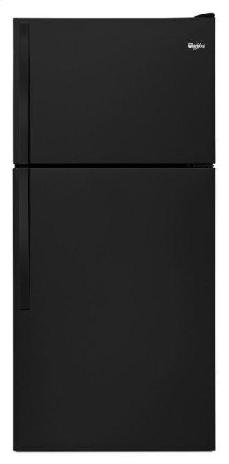 "Whirlpool™ 30"" Wide Top-Freezer Refrigerator with Flexi-Slide Bin"