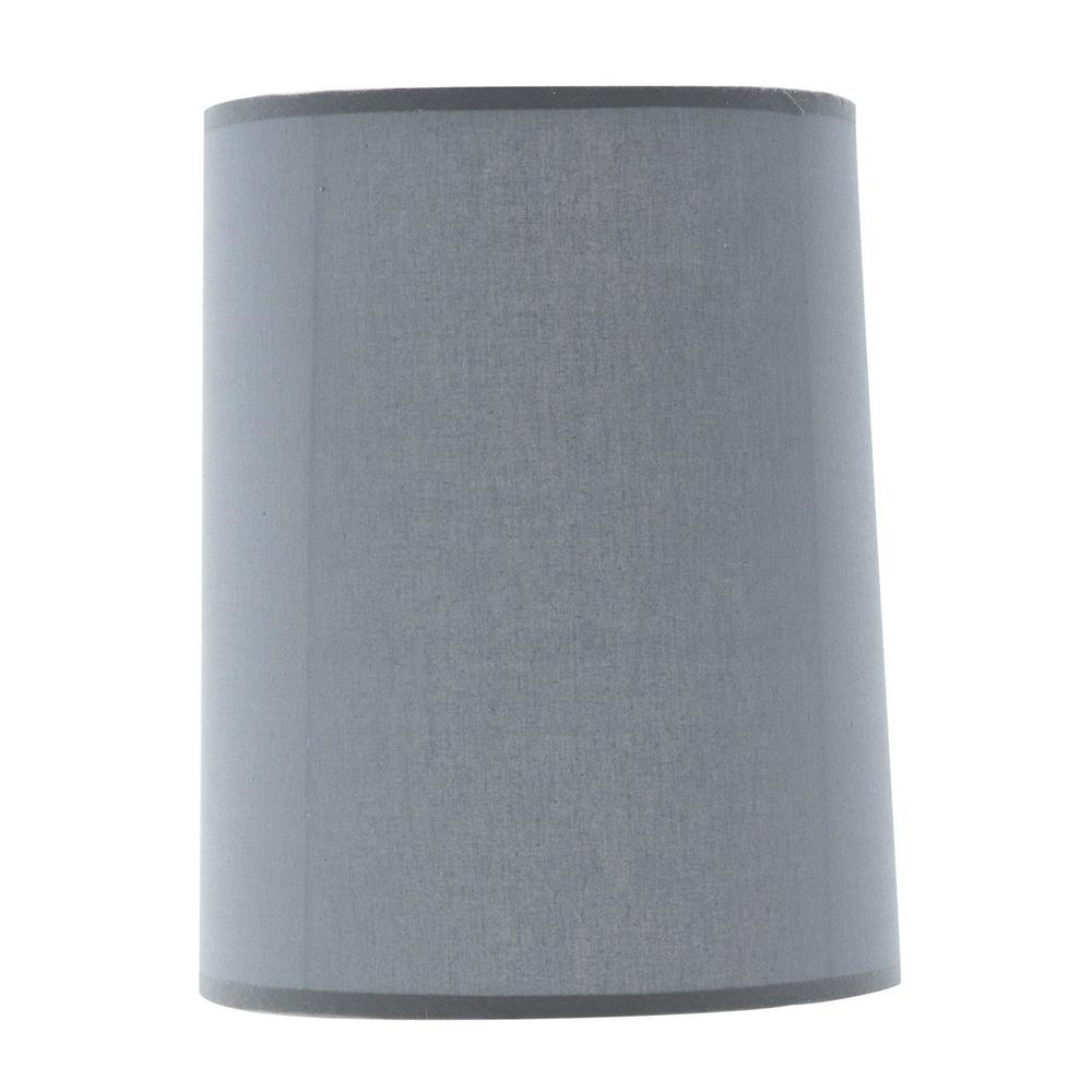 See Details - Drum Lamp Shade Gray (2/pack) 196t