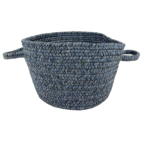 """Capel Rugs - Simplicity Water - Basket - 12"""" x 12"""" x 7.5"""""""