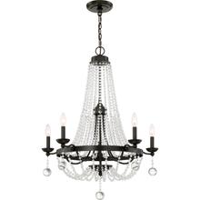 View Product - Livery Chandelier in Western Bronze