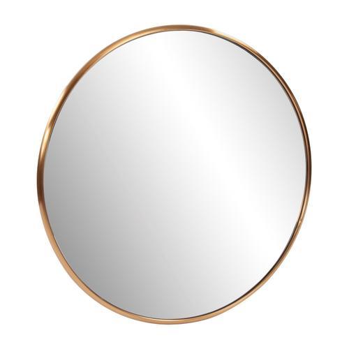 Howard Elliott - Yorkville Brass Round Mirror