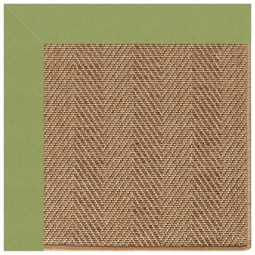 "Capel Rugs - Islamorada-Herringbone Canvas Citron - Rectangle - 24"" x 36"""