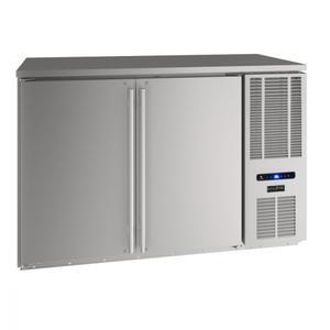 "U-Line52"" Back Bar Refrigeration With Stainless Solid Finish (115 V/60 Hz Volts /60 Hz Hz)"