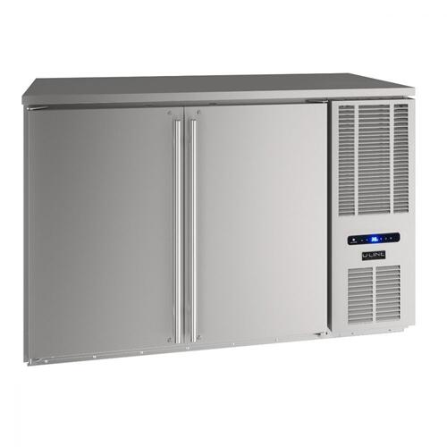 "U-Line - 52"" Back Bar Refrigeration With Stainless Solid Finish (115 V/60 Hz Volts /60 Hz Hz)"