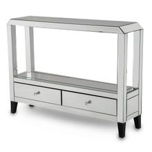 Mirrored Console Table W/drawers