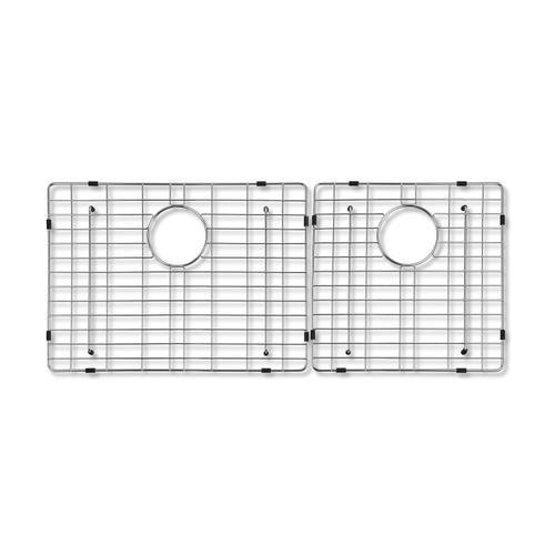 """Wire Grid Set for Crowley Farmer Sink - 16-7/8"""" x 15-5/8"""" (11-5/8"""" x 15-5/8"""")"""