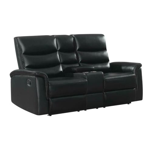 Coaster - Motion Loveseat W/ Console