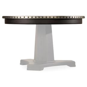 Dining Room Sanctuary Round Aluminum Dining Table Top