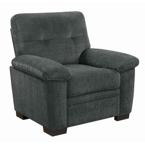 Fairbairn Casual Charcoal Chair