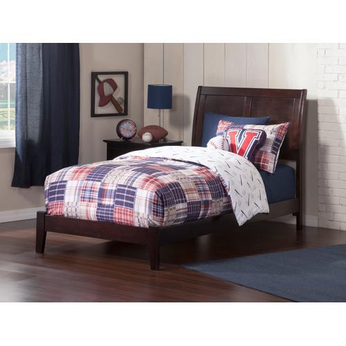 Portland Twin XL Bed in Espresso