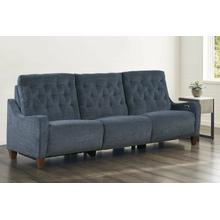 CHELSEA - WILLOW BLUE Power Triple Reclining Sofa (811LP, 810P, 811RP)