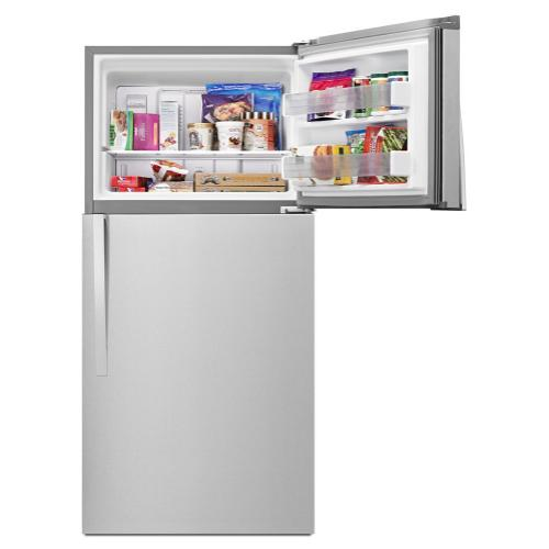 Whirlpool® 30-inch Wide Top-Freezer Refrigerator - EZ Connect Icemaker Kit Compatible - 19.2 cu. ft.