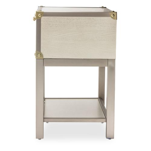 Amini - Accent Cabinet-night Stand-end Table 1 Drawer