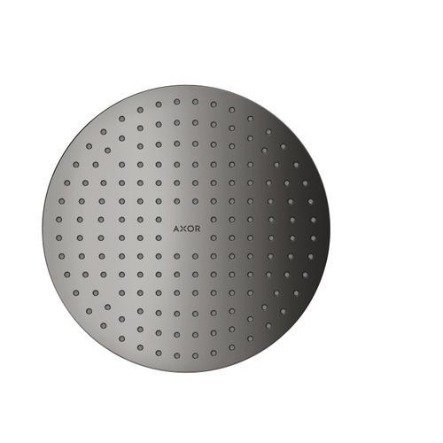 Polished Black Chrome Overhead shower 250 1jet ceiling