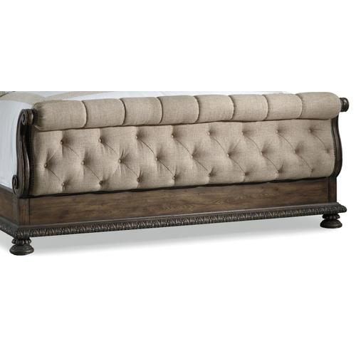 Bedroom Rhapsody Queen Tufted Footboard