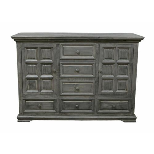 Million Dollar Rustic - Charcoal Gray Coliseo Dresser