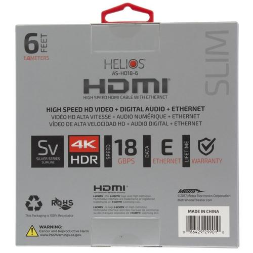 High Speed HDMI® Cable (6 feet)