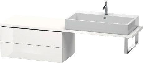 Low Cabinet For Console Compact, White High Gloss (decor)