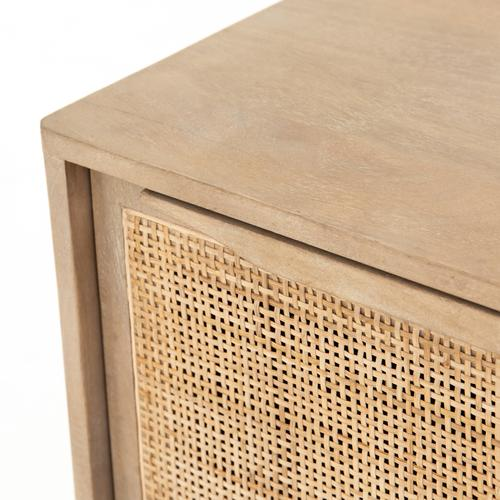 Right Configuration Natural Finish Sydney Nightstand