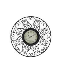 "MTL OUTDOOR WALL CLOCK 33""D"