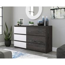 6-Drawer Double Dresser
