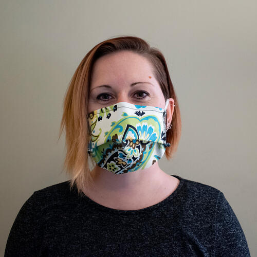 Reusable Face Mask in Somerset Jade