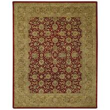 Velvet-Meshed Tuscan Red Hand Tufted Rugs