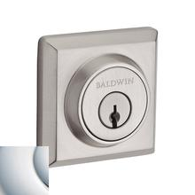 View Product - Polished Chrome Traditional Square Reserve Deadbolt
