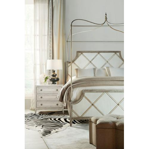 Bedroom Sanctuary Diamont Canopy King Panel Bed