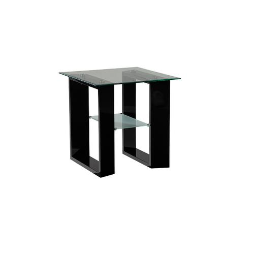 Modena End Table Glass Top