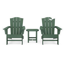 View Product - Wave Collection 3-Piece Set in Green
