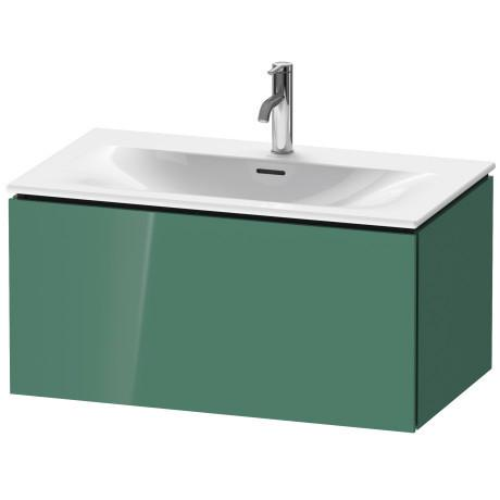 Vanity Unit Wall-mounted, Jade High Gloss (lacquer)