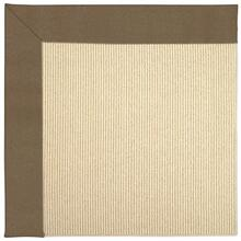 "Creative Concepts-Beach Sisal Canvas Cocoa - Rectangle - 24"" x 36"""