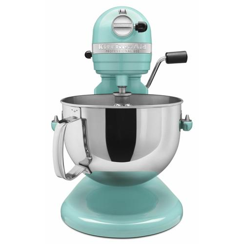 KitchenAid - Professional 600™ Series 6 Quart Bowl-Lift Stand Mixer - Aqua Sky