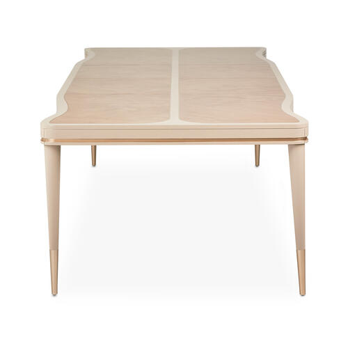 4 Leg Rectangular Dining Table (includes: 2 X 24 Leaves)