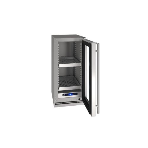 "15"" Refrigerator With Stainless Frame Finish (115 V/60 Hz Volts /60 Hz Hz)"