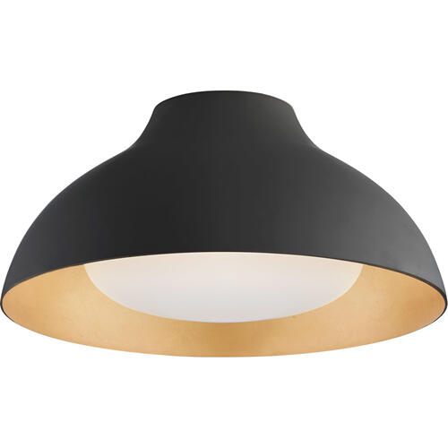 AERIN Agnes LED 15 inch Matte Black Flush Mount Ceiling Light