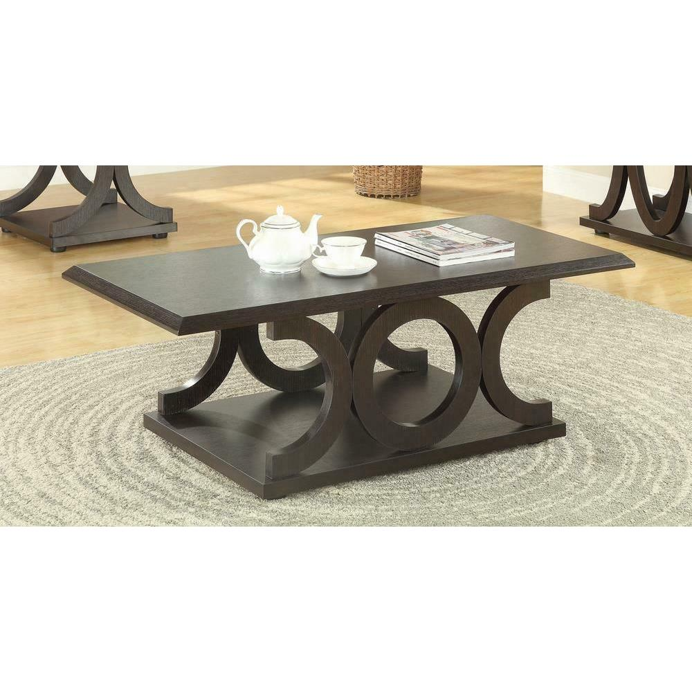 See Details - Casual Cappuccino Coffee Table