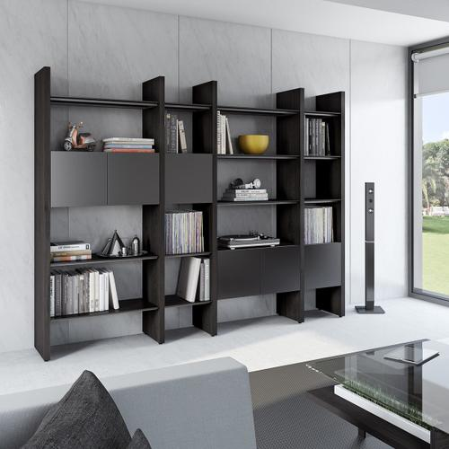 BDI Furniture - Semblance ® 5404-GB in Charcoal Stained Ash Black