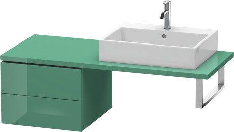 Low Cabinet For Console, Jade High Gloss (lacquer)