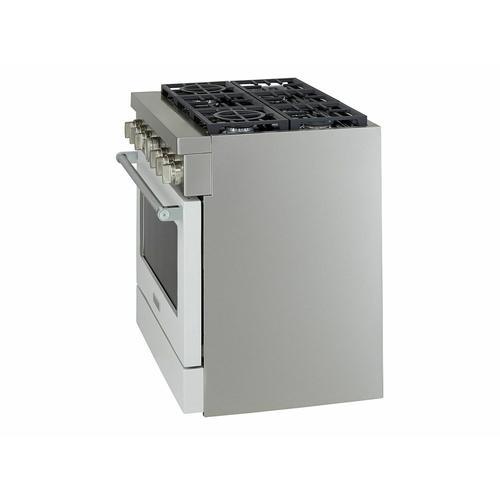 KitchenAid Canada - KitchenAid® 36'' Smart Commercial-Style Dual Fuel Range with 6 Burners - Matte Milkshake