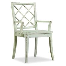 Dining Room Sunset Point X Back Arm Chair - 2 per carton/price ea