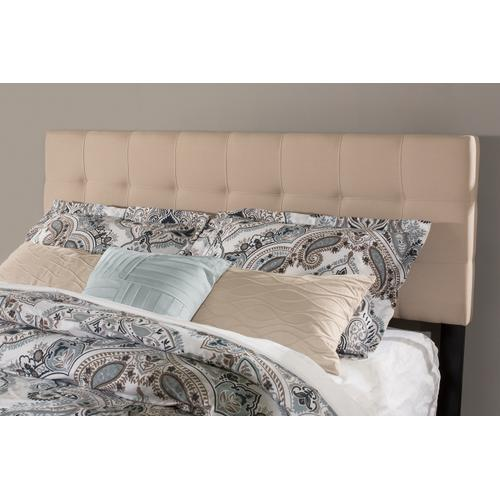 Product Image - Delaney Full/queen Upholstered Headboard With Frame, Linen