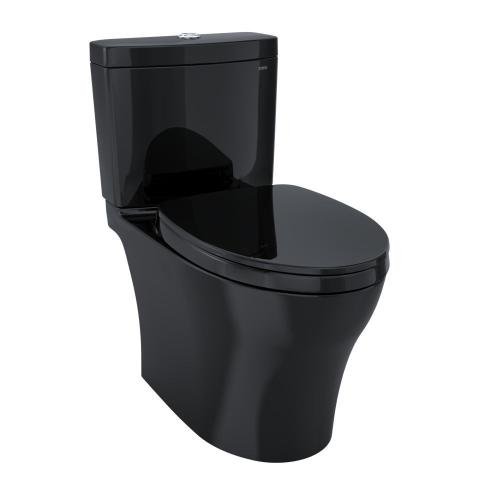 Aquia® IV Toilet - 1.28 GPF & 0.8 GPF, Universal Height - WASHLET+ Connection - Ebony