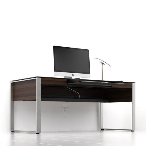 Executive Desk 6021 in Chocolate Stained Walnut