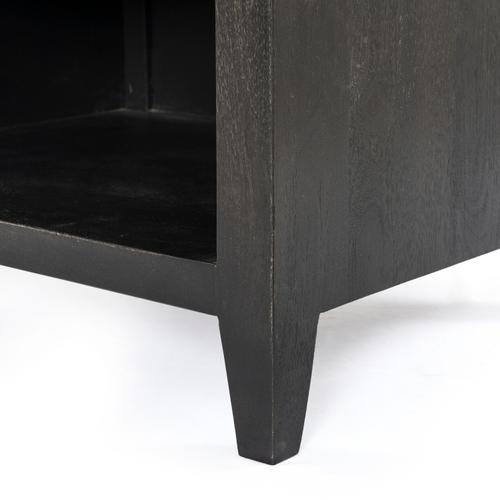 Westover Nightstand-flint Black