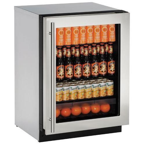 "2224rgl 24"" Refrigerator With Stainless Frame Finish (115 V/60 Hz Volts /60 Hz Hz)"