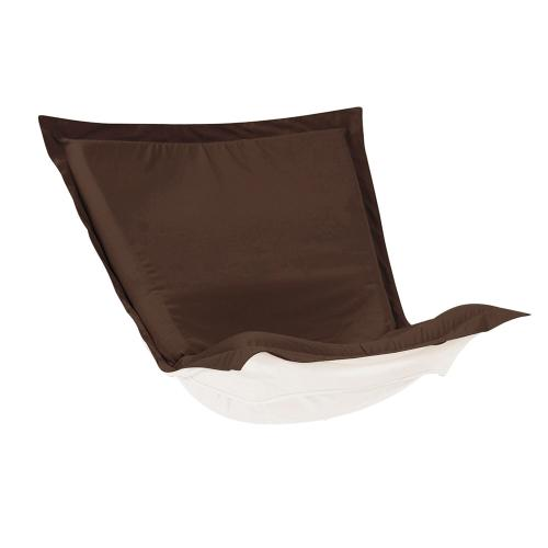 Puff Chair Cover Seascape Chocolate (Cover Only)