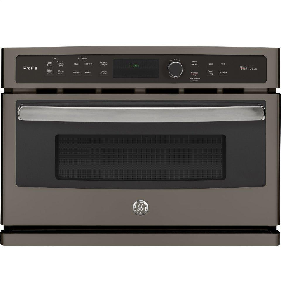 GE Profile27 In. Single Wall Oven Advantium® Technology